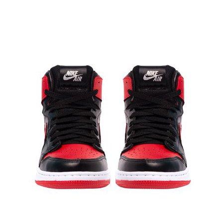 Nike Red Jordan Sneakers