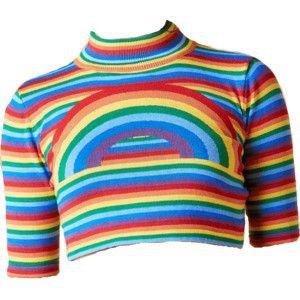 UNIF Rainbow Top