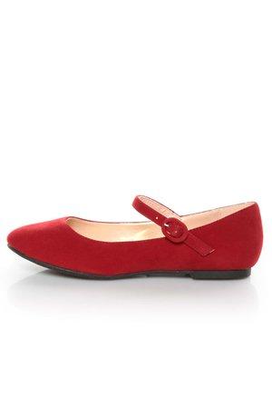 red mary hane flats
