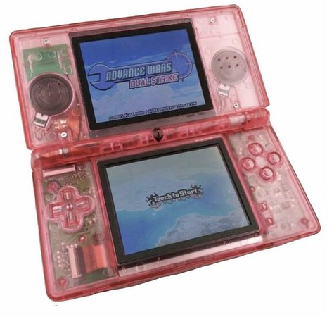 cute pink ds