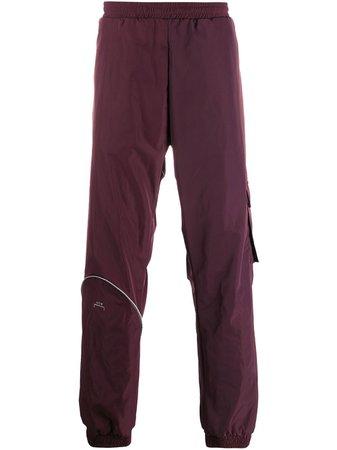 A-COLD-WALL* logo straight-leg trousers - FARFETCH