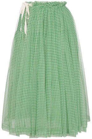 Molly Goddard Lettie high-waisted gathered tulle skirt