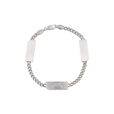 A-COLD-WALL* BRACELET SILVER / SILVER