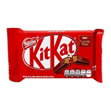 Oblea Nestlé Kit Kat cubierta con chocolate con leche 41.5 g | Walmart