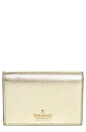 kate spade new york blake street - dot gabe leather wallet   Nordstrom