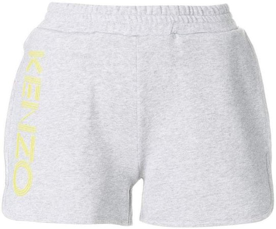 relaxed logo shorts