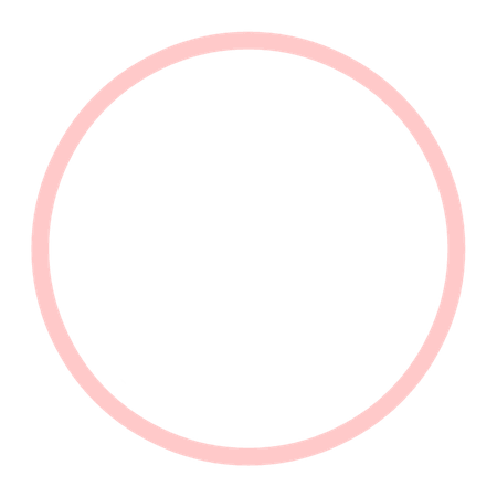 Circle Frame (Light-Pink)