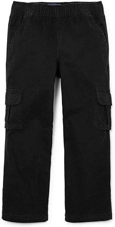 Amazon.com: The Children's Place Big Boys' Slim Pull-On Cargo Pant, Black, 10S: Clothing