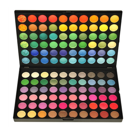 120 Rainbow Eyeshadow – My Make-Up Brush Set - US