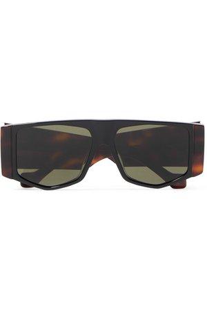 Loewe | Oversized hexagon-frame tortoiseshell acetate sunglasses | NET-A-PORTER.COM