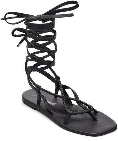 Positano Ankle Wrap Sandal