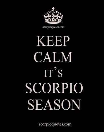 Scorpio season quote