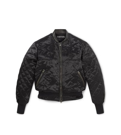 Tom Ford QUILTED BOMBER JACKET | TomFord.com