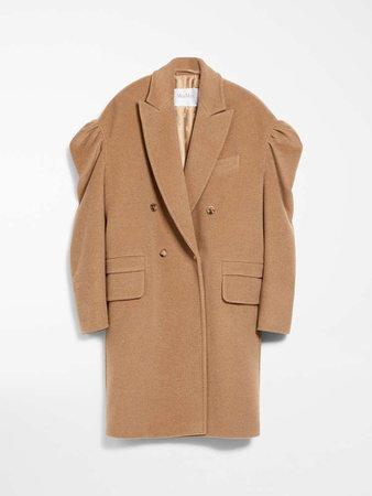 """Camel beaver pea coat, camel - """"GABRY"""" Max Mara"""