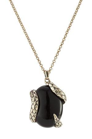 Necklace with Semi-Precious Stone Gr. One Size
