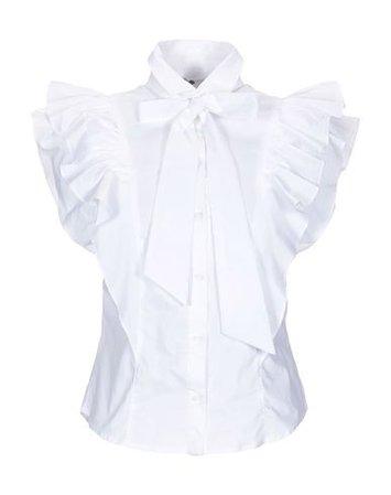 No Secrets Solid Color Shirts & Blouses - Women No Secrets Solid Color Shirts & Blouses online on YOOX United States - 38806748DB