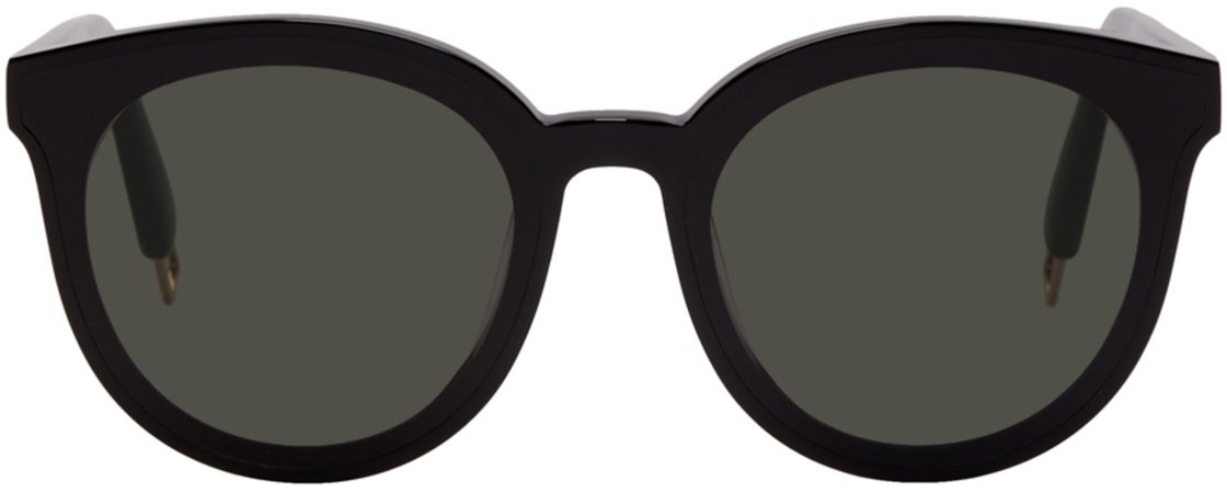 Gentle Monster: Black Peter Sunglasses   SSENSE