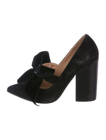 Ulla Johnson Suede Pointed-Toe Pumps - Shoes - WUL29211   The RealReal