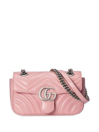 Gucci GG Marmont Axelväska i Matelassé - Farfetch