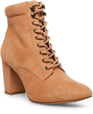 Madden Girl Justinee Lace-Up Booties & Reviews - Boots - Shoes - Macy's