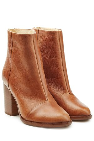 Leather Ankle Boots Gr. IT 38