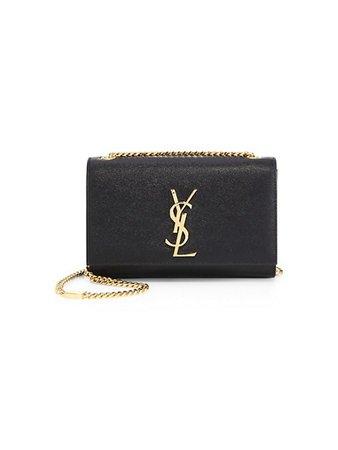 Saint Laurent Small Kate Leather Shoulder Bag | SaksFifthAvenue