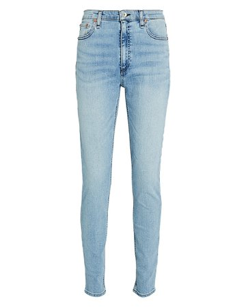 Rag & Bone Nina High-Rise Skinny Jeans   INTERMIX®
