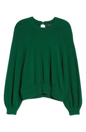 J.Crew Supersoft Gathered Crewneck Sweater (Regular & Plus Size) | Nordstrom
