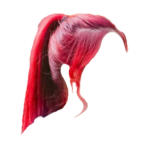 RED HAIR PNG PONYTAIL