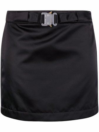 Shop 1017 ALYX 9SM buckled mini skirt with Express Delivery - FARFETCH