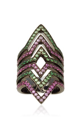 Lynn Ban Jewelry DOUBLE VICE RING