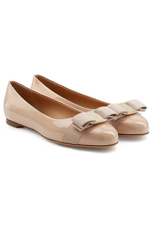 Varina Patent Leather Ballet Flats Gr. US 5.5