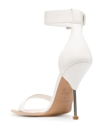Alexander McQueen Double Strap 85mm Sandals - Farfetch