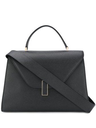 Black Valextra Oversized Envelope Tote For Women | Farfetch.com