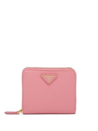 Prada Small Zipped Wallet - Farfetch