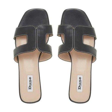LOUPE - Smart Slider Sandal - black