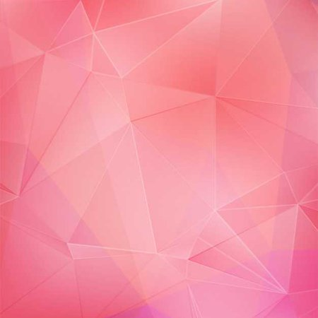 Hot Pink Geometric Wallpaper