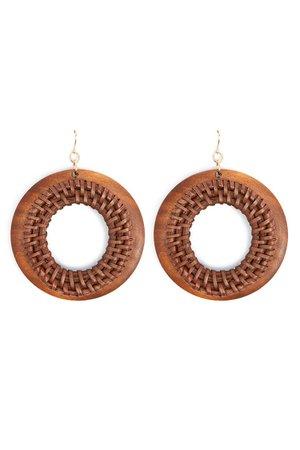 Wooden Drop Earrings | Forever 21