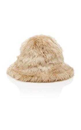 Sierra Faux Fur Hat by Clyde   Moda Operandi