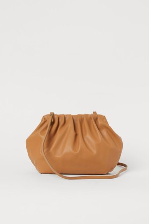 Soft Shoulder Bag - Dark beige - Ladies | H&M US