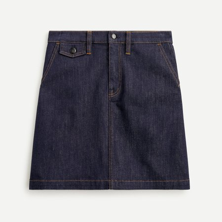 J.Crew: Denim mini skirt