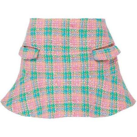 Cher Plaid Mini Skirt | Moda Operandi ($730)