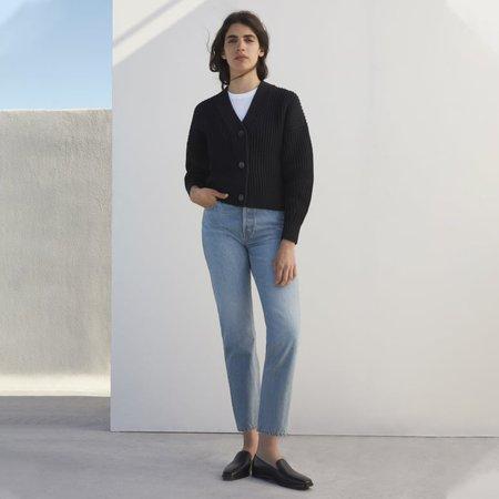 Women's Texture Cotton Crop Cardigan | Everlane