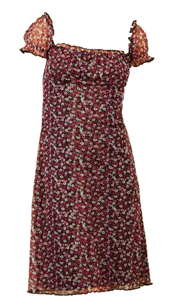 UNIF posy dress