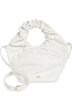 FRAME Le Scrunch Mini Leather Crossbody Bag | Nordstrom