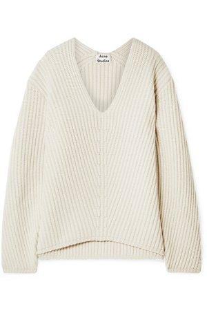 Acne Studios | Deborah ribbed wool sweater | NET-A-PORTER.COM