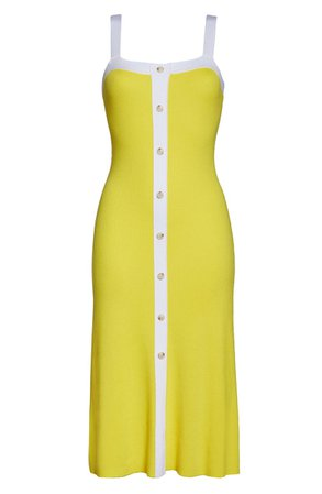 1901 Button Front Sleeveless Knit Dress | Nordstrom
