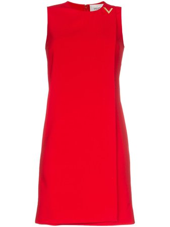Valentino V Hardware Shift Dress - Farfetch