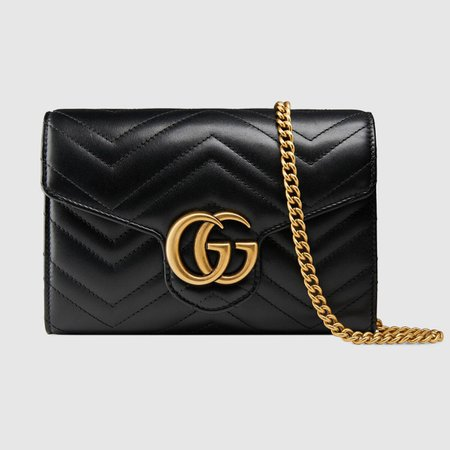 GG Marmont matelassé mini bag - Gucci 474575DTD1T1000