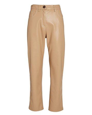 Nanushka | Ivy Vegan Leather Trousers | INTERMIX®